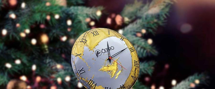 Porcelain Enamel Clocks